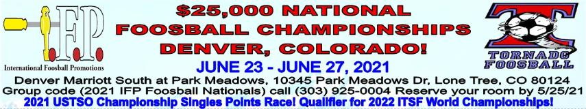 2021 Nationals info