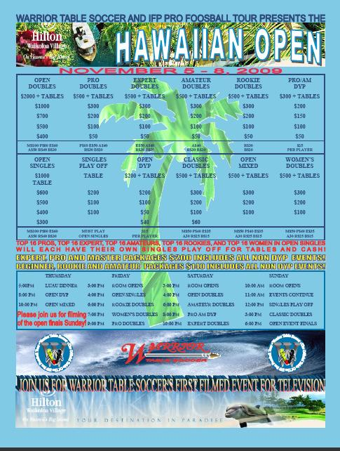 Hawaiian Open PDF Flier